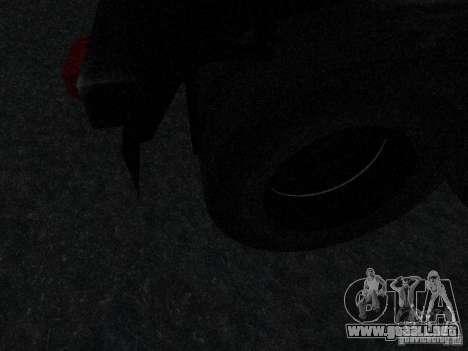 Remolque blindado combustible Mack Truck Titan para visión interna GTA San Andreas