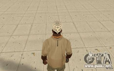 Bandana hellrider para GTA San Andreas tercera pantalla