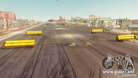 Nevada Drift Map para GTA 4