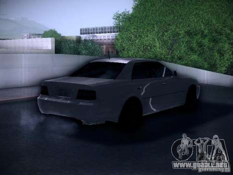 Toyota Chaser 100 para GTA San Andreas vista posterior izquierda