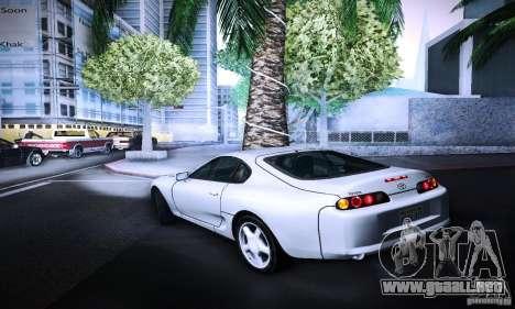 Toyota Supra Tuneable para GTA San Andreas left