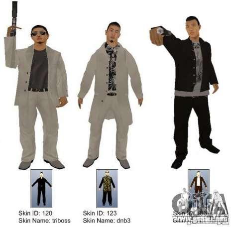 New Yakuza para GTA San Andreas segunda pantalla