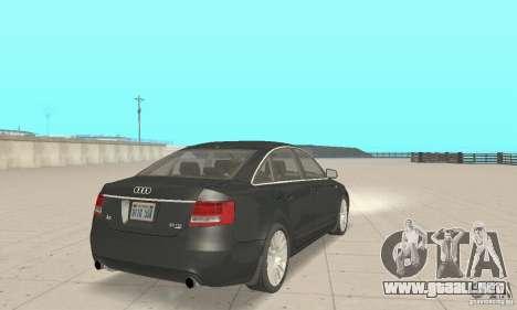 Audi A6 3.0 TDI quattro 2004 para GTA San Andreas left