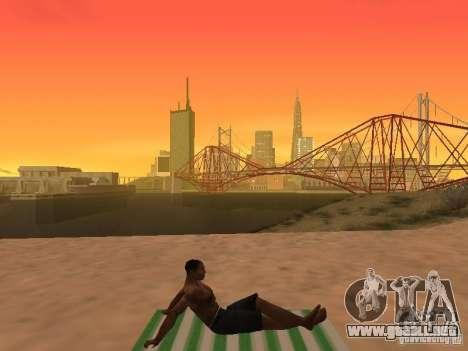 Estera del resto para GTA San Andreas séptima pantalla