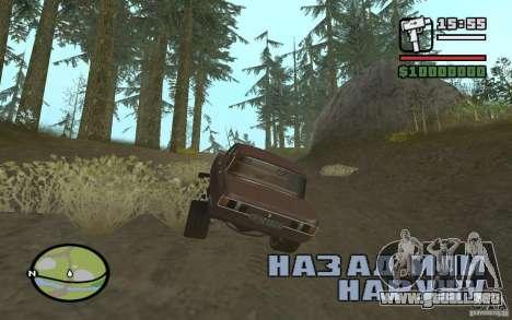 AZLK-2140 4x4 para visión interna GTA San Andreas