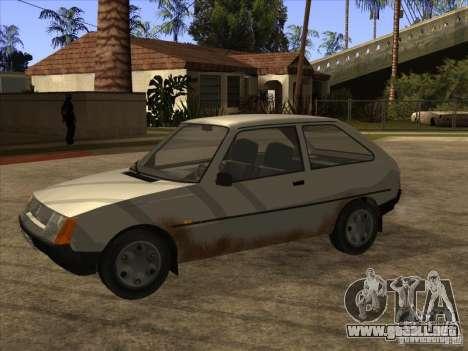 ZAZ Tavria 1102 para GTA San Andreas left