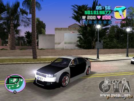 Audi S4 Tuned para GTA Vice City left
