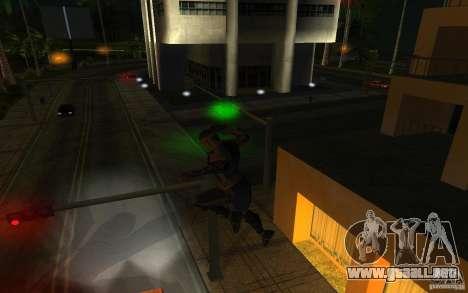 Cyrax de Mortal kombat 9 para GTA San Andreas tercera pantalla