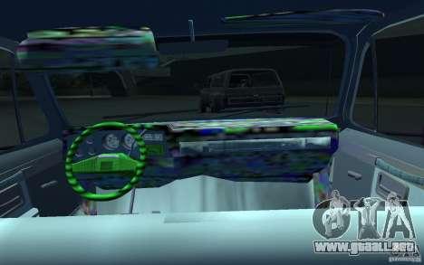 Chevrolet Silverado para GTA 4 vista hacia atrás