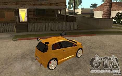 Fiat Grande Punto Tuning para la visión correcta GTA San Andreas