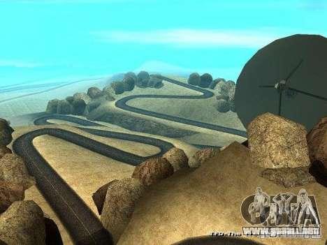 Downhill Drift para GTA San Andreas tercera pantalla