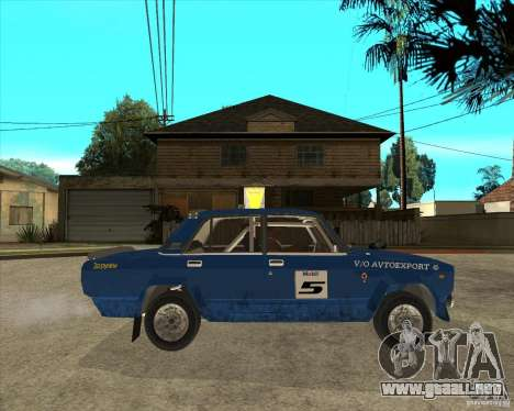 Rally de VFTS LADA 2105 para la visión correcta GTA San Andreas