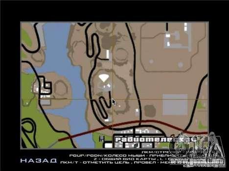 New Drift Zone para GTA San Andreas undécima de pantalla