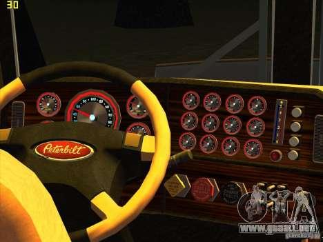 Peterbilt 379 Wrecker para la visión correcta GTA San Andreas