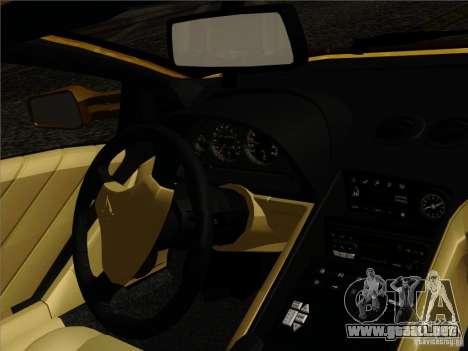 Lamborghini Diablo VT 1995 V3.0 para GTA San Andreas interior