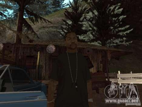 Xzibit para GTA San Andreas segunda pantalla
