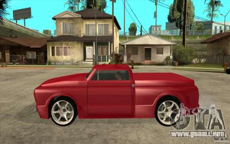 Slamvan Custom para GTA San Andreas left