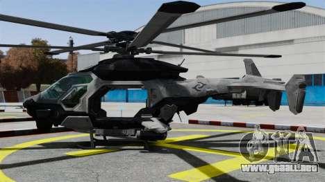 Helicóptero C.E.L.L. para GTA 4 left