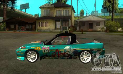 Nissan 200sx from Moscow Drift para GTA San Andreas left