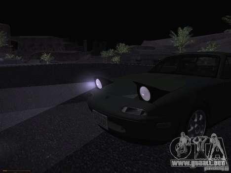 Mazda MX-5 1997 para la vista superior GTA San Andreas