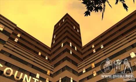 El nuevo hospital en HP para GTA San Andreas segunda pantalla