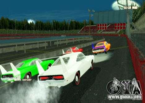 Nascar Rf para GTA San Andreas segunda pantalla
