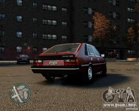FSO Polonez 1500 Borewicz para GTA 4 vista hacia atrás