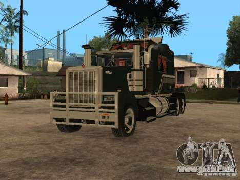 Custom Kenworth w900 - Custom - Trailer para GTA San Andreas left