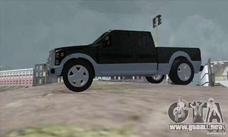 FORD F450 SUPER DUTE para GTA San Andreas left