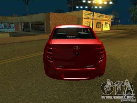 Lada 2190 Granta para la visión correcta GTA San Andreas
