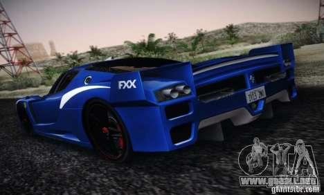 Ferrari FXX Evoluzione para GTA San Andreas left