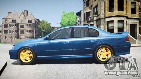Ford Falcon XR8 2007 Rim 2 para GTA 4 left