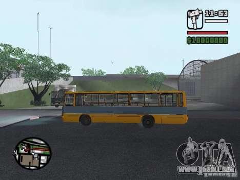 Ikarus 263 para vista lateral GTA San Andreas