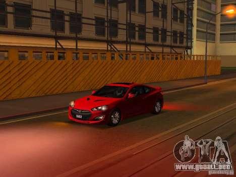 Hyundai Genesis Coupé 3.8 Track v1.0 para las ruedas de GTA San Andreas