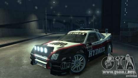 Ford RS200 Evolution Rallycross para GTA 4 visión correcta