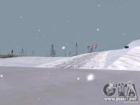 Nieve para GTA San Andreas twelth pantalla