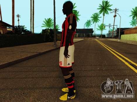 Mario Balotelli v1 para GTA San Andreas tercera pantalla