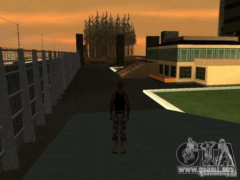 La villa de la noche beta 1 para GTA San Andreas segunda pantalla