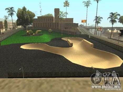 El nuevo Velódromo en LS para GTA San Andreas segunda pantalla