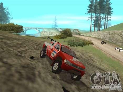 Nissan Pickup para la visión correcta GTA San Andreas