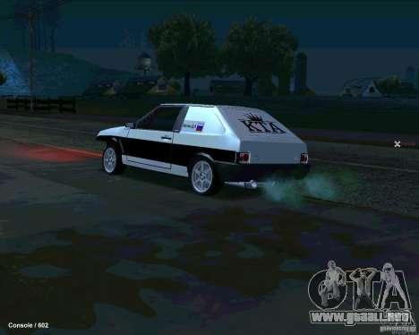 VAZ 2108 Drag para GTA San Andreas left