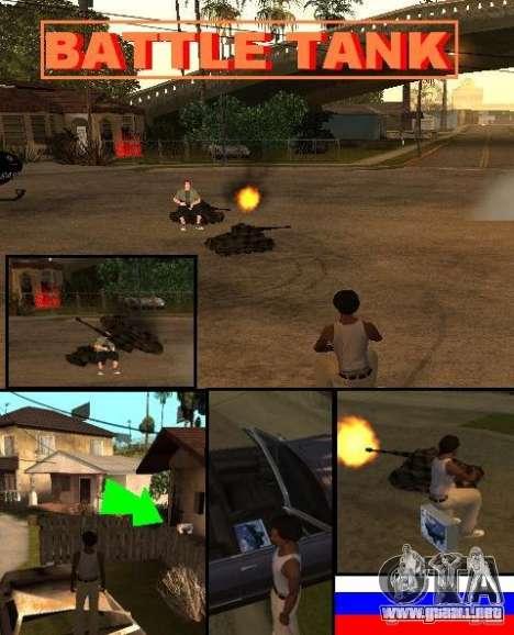 GTA SA SIMS real para GTA San Andreas tercera pantalla