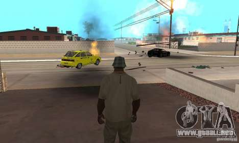 Hot adrenaline effects v1.0 para GTA San Andreas
