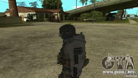 Ghost para GTA San Andreas segunda pantalla