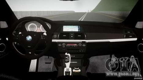BMW X5 M-Power para GTA 4 visión correcta