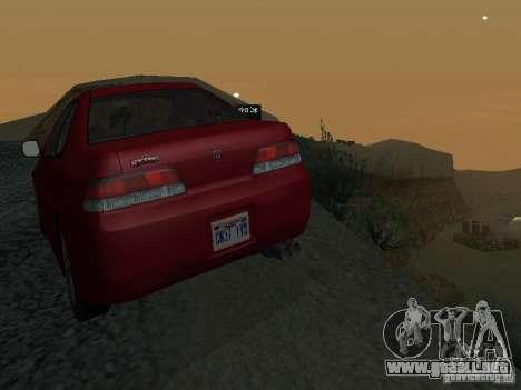 Honda Prelude Sport para la vista superior GTA San Andreas