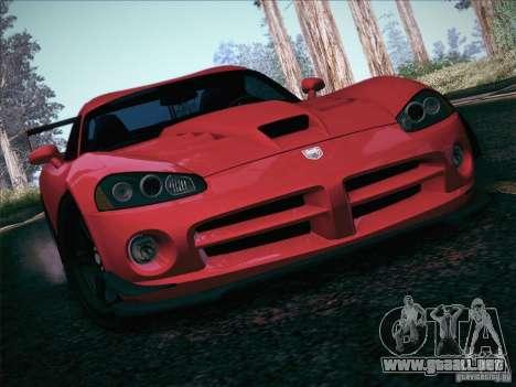 Dodge Viper SRT-10 ACR para el motor de GTA San Andreas
