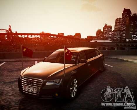 Audi A8 Limo para GTA 4