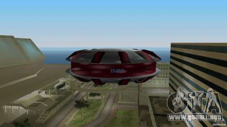 Ultimate Flying Object para GTA Vice City vista lateral izquierdo