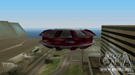 Ultimate Flying Object para GTA Vice City vista lateral izquierdo